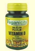 Veganicity - witamina D2